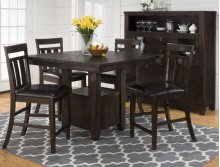 Kona Grove Counter Height Table With Storage Base