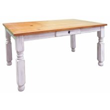 Weathered Wb Lyon Table
