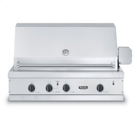 """Stainless Steel 41"""" Ultra-Premium E-Series Grill with TruSear - VGIQ (41"""" wide E-Series with two standard 29,000 BTU stainless steel burners and one 30,000 BTU TruSear infrared burner (Natural Gas)"""