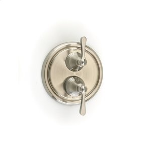 Satin Nickel Summit (Series 11) Dual Control Thermostatic with Diverter and Volume Control Valve Trim
