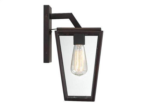 Milton 1 Light Wall Lantern