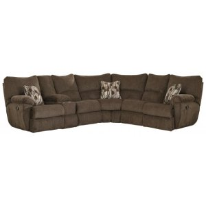 Power Lay Flat Reclining Sectional