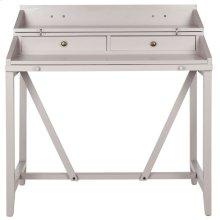 Wyatt Writing Desk W/pull Out - Quartz Grey