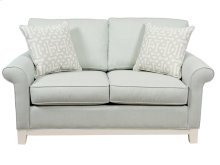 Loveseat, 5'' Plinth Base Available in Grey Wash, Cottage White, Royal oak, Black Teak, White Teak or Vintage Smoke finish.