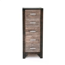 Urban Graphite 5 Drawer Lingerie Chest