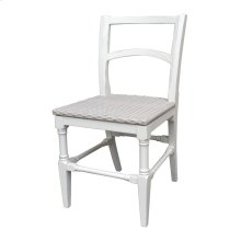 Island Side Chair - Wht