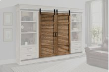 Shuttered Sliding Doors