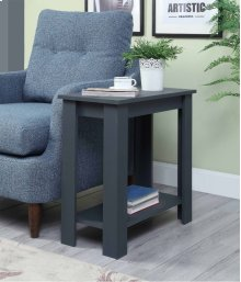 7093 Gray Side Table
