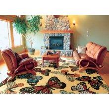 Home & Garden Rs018 Yel Rectangle Rug 10' X 13'