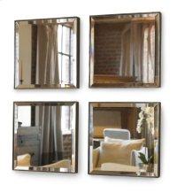 Mini Mirror Set Four Mirrors Product Image