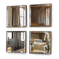 Mini Mirror Set Four Mirrors Product Image