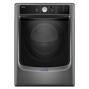 Maytag® Large Capacity Dryer with Sanitize Cycle and PowerDry System ? 7.4 cu. ft. - Metallic Slate - METALLIC SLATE