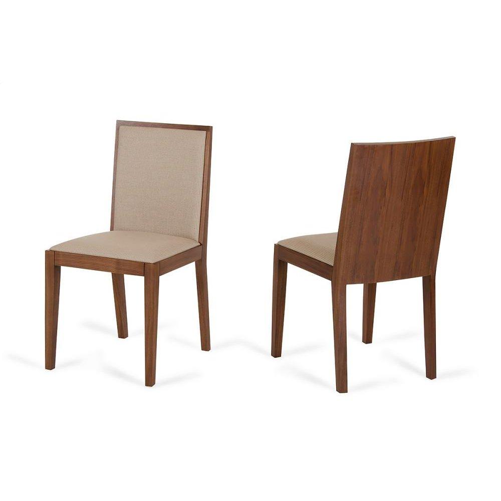 Modrest Codex Modern Tobacco & Beige Desk Chair