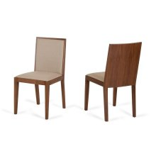 Modrest Codex Modern Tobacco & Beige Desk Chair