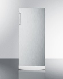 """10.1 CU.FT. General Purpose All-refrigerator In Slim 24"""" Width, With Automatic Defrost, Internal Fan, Stainless Steel Door, and Towel Bar Handle"""