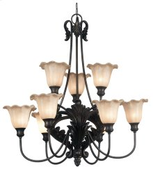 Cromwell - 9 Light Chandelier