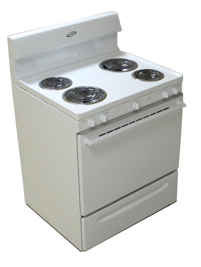 cre3510lw in white by crosley in lebanon mo crosley electric rh jacobsenappliances com Crosley Gas Range Parts Crosley Stoves Ranges