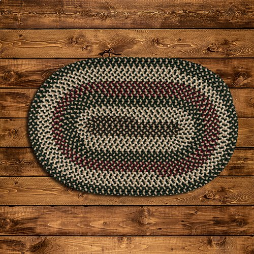 Brook Farm Rug BF62 Winter Green 8' X 11'