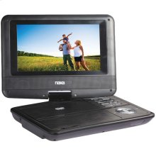 "7"" TFT LCD Swivel-Screen Portable DVD Player"