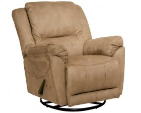 "Chaise ""Swivel Glider"" Recliner - Stone"