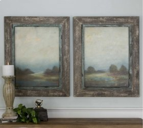 Morning Vistas Oil Reproductions, S/
