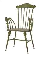 Trenton Green Metal Arm Chair Product Image