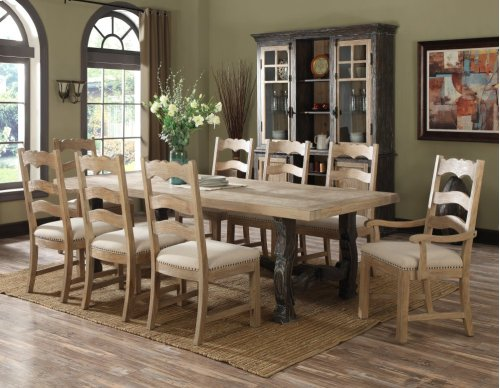 Emerald Home Barcelona Complete Buffet & Hutch Natural & Brown D551-60-65-k