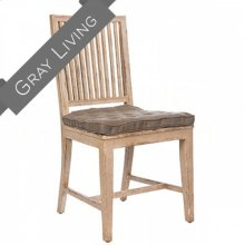 Staffan Chair in Distressed Gray