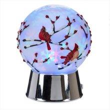 Cardinal Globe Projection LED Night Light.