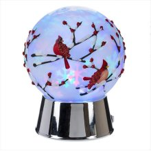 Cardinal Globe Projection LED Night Light.