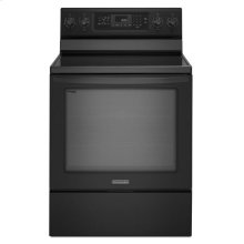 KitchenAid® 30-Inch 5-Element Electric Freestanding Range, Architect® Series II - Black