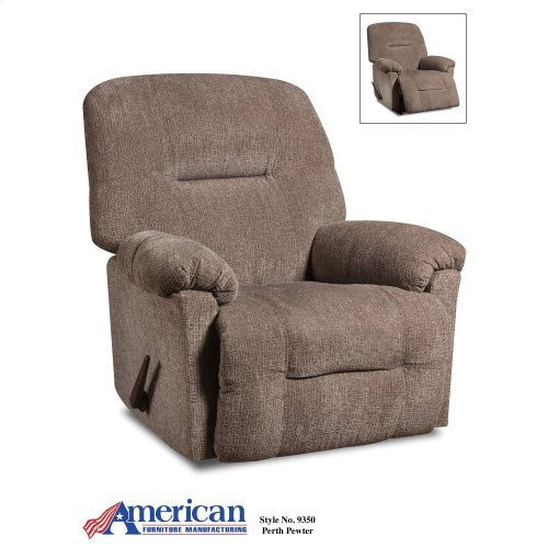 9350 - Perth Pewter Rocker Recliner