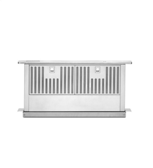 """KitchenAid® 30"""" Retractable Downdraft System, 600 CFM Architect® Series II - Stainless Steel"""