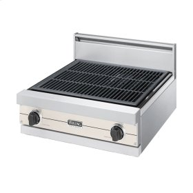 """Oyster Gray 24"""" Gas Char-Grill - VGQT (24"""" wide char-grill)"""