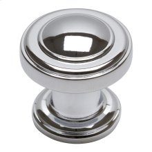 Bronte Knob 1 1/8 Inch - Polished Chrome