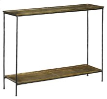 Boyles Brass Console Table
