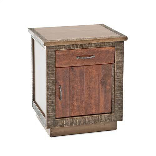 Berkeley - 1 Drawer 1 Door Nightstand
