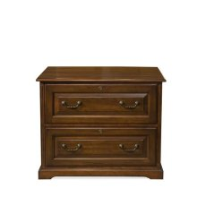 Cantata Two Drawer Lateral File Burnished Cherry finish