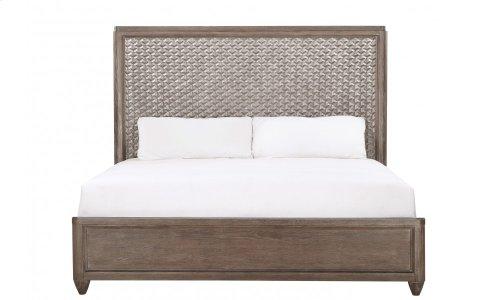 Geode Celestite Queen Panel Bed