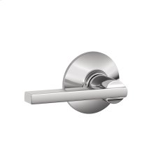 Latitude Lever Hall & Closet Lock - Bright Chrome