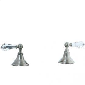 Asbury - Deck Valve Kit Trim - Brushed Nickel