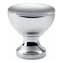 Shelley Round Knob 1 1/4 Inch - Polished Chrome