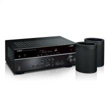 MusicCast RX-V585 Bundle - Black 7.2-Channel AV Receiver with MusicCast