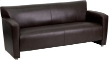 HERCULES Majesty Series Brown Leather Sofa