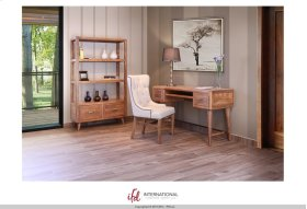 """70"""" Bookcase w/2 Drawers & 3 wooden shelves - KD System"""