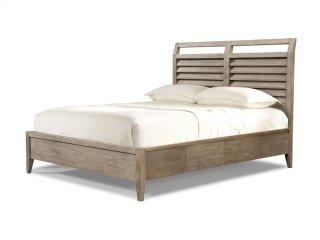 Corliss Landing Shutter Sleigh Bed