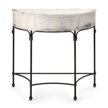 London Metal Accent Table