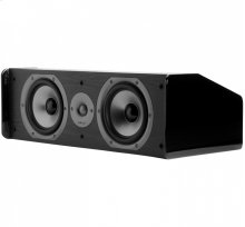 "TSi Series Center Channel Speaker With Dual 5.25"" Drivers in Black"