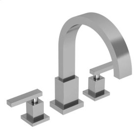 Satin-Nickel Roman Tub Faucet
