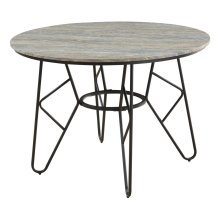 "Emerald Home Emmett 42"" Round Dining Table-d248-10"